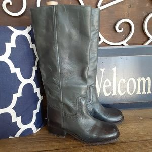 Lucky Brand Hunter Green Knee High Boots